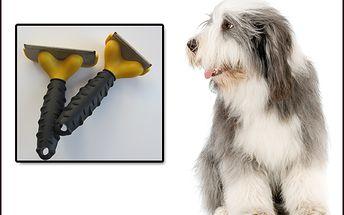 Skvělá pomoc pro vaše domácí mazlíčky! 75% sleva na Furminátor šíře 6,8 cm vhodný pro menší rasy. Redukuje vypadávání srsti koček a psů až o 90%! Lesklá a zdravá zvířecí srst za pouhých 215 Kč!