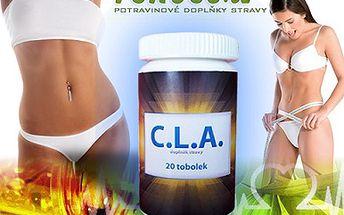 Spalujte tuky, uchovávejte svaly a zbavte se jojo efektu! Alternativní a efektivní varianta tablet C.L.A. za 88 Kč, Vám pomůže bojovat s přebytečnými kilogramy a zpevňovat tělo. Hubněte při každém pohybu se slevou 40%!