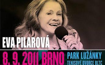 Eva Pilarová zazpívá v Brně! Opráší hitovky, zazáří mistrně. Exkluzivní vstupenka na koncert brněnské rodačky Evy Pilarové se slevou 50 %.