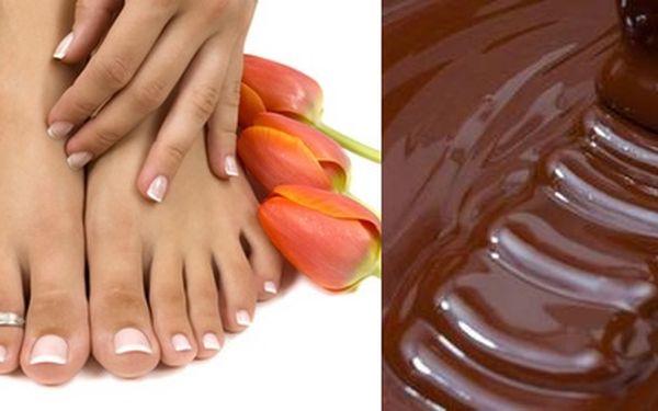 Čokoládová wellness pedikúra - dopřejte svým nohám luxusní péčiza pouhých 299,- Kč. Nechte své nohy hýčkat od profesionálů.