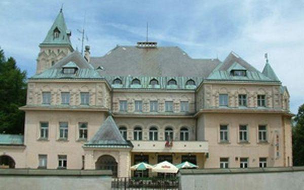 Last minute - pobyt s polopenzí v secesním zámku ve Vysokém nad Jizerou. Tento zámek využíval ministerský předseda Dr. Karel Kramář jako letní sídlo! Výjimečný zážitek je tu i pro Vás a nyní se slevou 50%!