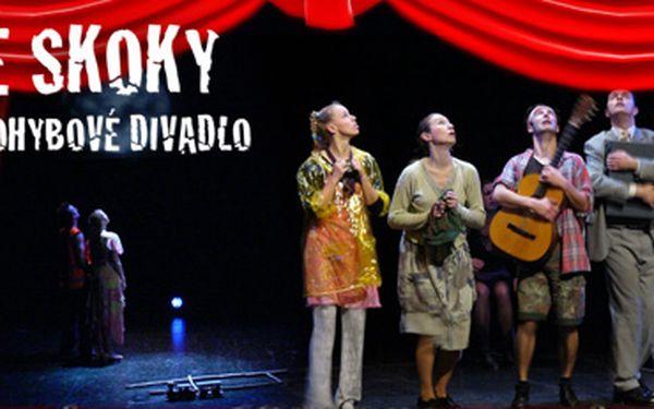 SKOČTE SI DO DIVADLA!!! Vstupenka na představení souboru VESELÉ SKOKY v divadle V Celetné za pouhých 110 Kč!! Nechte se pohltit světem tance, zpěvu a hudby!!!