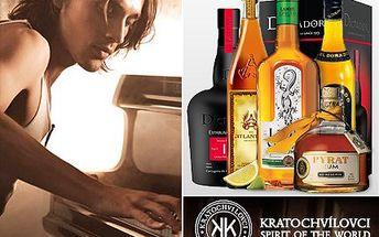 Opravdový znalec rumu se pozná podle svého umu! Ochutnejte špičkové rumy z různých koutů světa a pochutnejte si na parádním rautu se slevou 59 %.