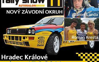 Krásné ženy či stroje závodní, dělají z RALLY SHOW zážitek životní. Při příležitosti otevření nového českého autodromu CZECHRING v Hradci Králové navštivte 4. ročník RALLLY SHOW se slevou 38 %.