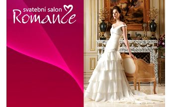 Svatební šaty pro váš nejkrásnější den !!! Staň se princeznou ve svatebním salonu romance se zapůjčením korunky zdarma !!!