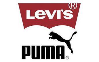 Kupón v hodnote 3€ Vám zaručí 50% zľavu na tovar Levi's a Puma