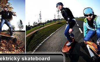Využijte výhodnou slevu na jízdu na elektrickém skateboardu ve FREESTAIL PARKU v MODŘANECH. Ochutnejte s námi 20 minut adrenalinové jízdy na ELEKTRIC SKATEBOARDU jen za 49,-Kč.