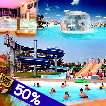 Leto sa ešte nekončí! Príďte sa vyblázniť a zabaviť do Aquaparku Senec a predĺžte si leto. Celodenný vstup len za 10 eur!