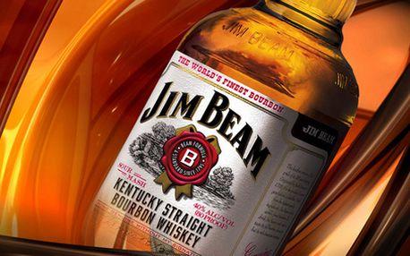 3 velké panáky nejprodávanější Bourbon Whiskey ve světovém měřítku - JIM BEAM v útulném baru v srdci Prahy 4!