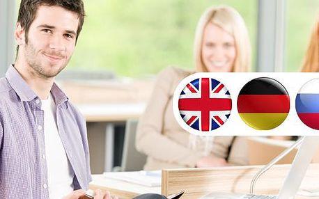Vysoce efektivní 3měsíční kurzy angličtiny, němčiny a ruštiny se slevou až 45 % v jazykové škole Britannika v centru Prahy! Vysoká kvalita, zkušení profesionální lektoři, max. 6 lidí ve skupině, individuální přístup, současné výukové metody! Moderní učebnice půjčujeme během výuky zdarma! Pro prvních 50 účastníků - přihlašovací kod do virtuálního systému Epals!