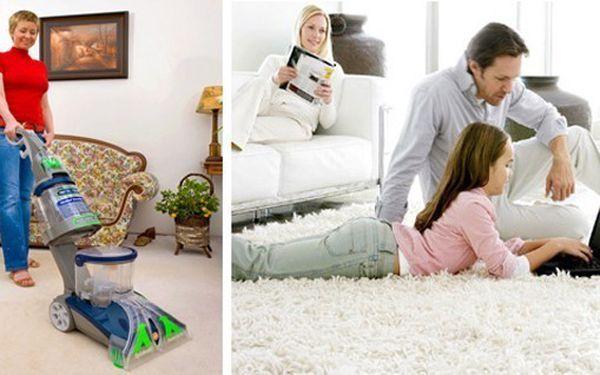 VELKÝ ÚKLID? 499 Kč za kompletní mokré vyčištění koberců o ploše 40 m2 ve Vaší domácnosti nebo firmě revoluční technologií VAXing