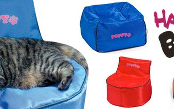 Dopřejte luxus a pohodlí vaší kočičce! Za báječných 750 Kč si můžete vybrat ze 2 modelů, 2 velikostí a 3 barevných provedení designového pelíšku, kde se váš domácí miláček bude cítit jako v peřince.
