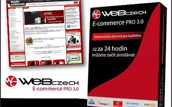 Rozjeďte svůj byznys na internetu s vlastním e-shopem s 95% slevou! Pořiďte si internetový obchod od projektu WebCzech + doménu a webhosting na rok zdarma.
