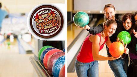 5 eur za celú hodinu pravej bowlingovej zábavy teraz s 58% zľavou!