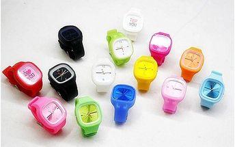 149 za hit letošního roku silikonové hodinky - jelly watch včetně poštovného a balného!!!