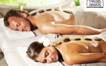 Dopřejte si malé odměny! Třeba masáž lávovými kameny. 50% sleva na uvolňující masáž zad, šíje a dolních končetin v exotickém studiu DENG-THAI Ostrava.