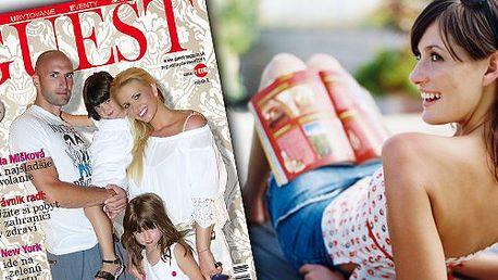 6 eur za ročné predplatné prestížneho magazínu GUEST! Majte vždy najlepšie informácie so zľavou 50%
