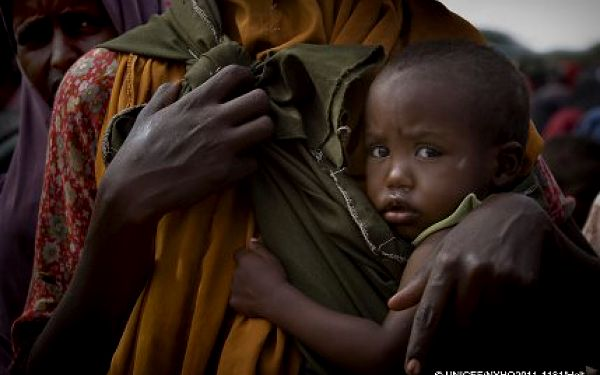 Pomoz dětem v Africe přežít - UNICEF!