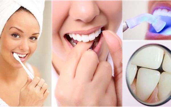 JEN 550 Kč na profesionální dentální hygienu a slevu na bělení zubů ve stomatologické ordinaci. Okouzlujte dokonalými a zdravými zuby!
