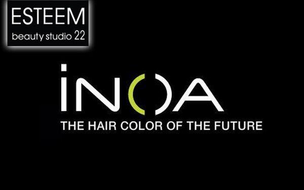 Milé dámy, vstupte do budoucnosti s revoluční barvou na vlasy INOA v Praze na Vinohradské ulici se slevou 44% za pouhých 900 Kč!