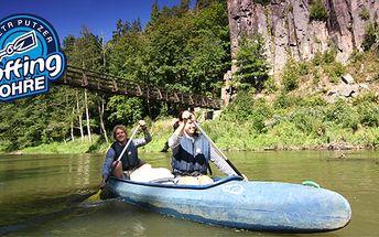 Zakončení vodácké sezóny se slevou 56% - Využijte poslední příležitost plavby na lodi, směr Loket nad Ohří, Karlovy Vary, Perštejn s půjčovnou lodí a raftů Petr Putzer.