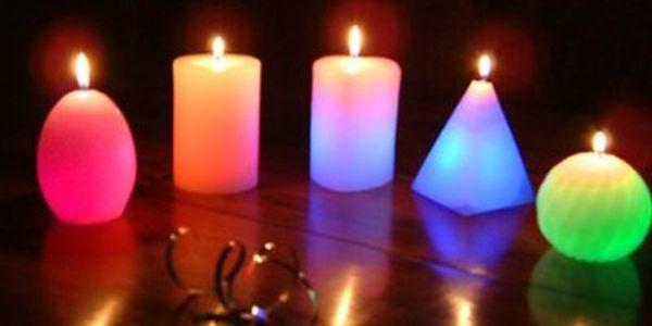 99 Kč za unikátní kouzelnou svíčku pro navození romantické atmosféry