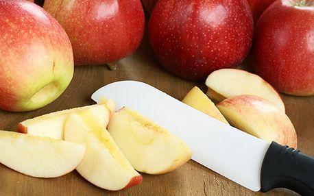 Má to říz! S novým japonským keramickým nožem Akura pro vás krájení bude radost! Kvalitní povrch, nereziví a zachová cenné vitamíny v potravinách! S 50% slevou jen 249 korun.