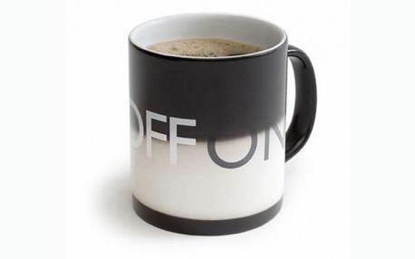 Začínáte každé ráno kávou či čajem? Právě pro vás máme báječnou slevu 50% na oblíbený hrnek on/off za pouhých 349 kč