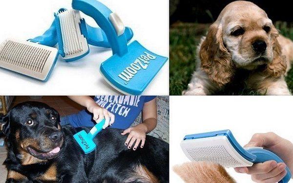 Něco pro naše čtyřnohé miláčky :-) PetZoom profesionální kartáč pro psy a kočky!!!