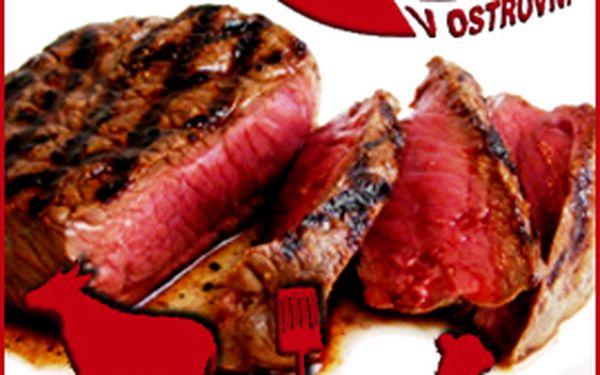 299 Kč místo 621 Kč za výborné steakové menu. 52 % off!