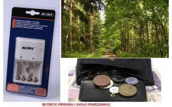 Šetřete přírodu i svojí peněženku s elektrickou aku nabíječkou na tužkové baterie.