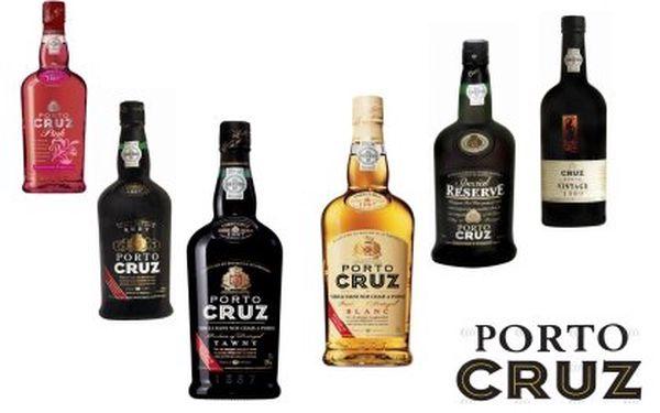 Portská vína porto cruz
