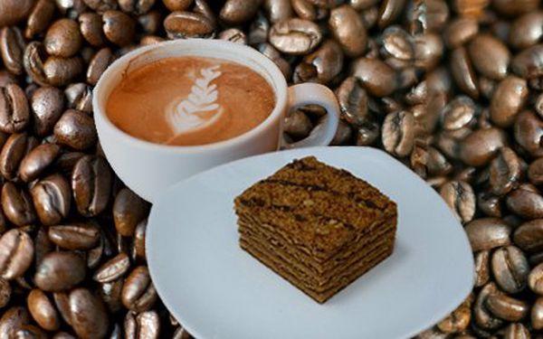 1 euro za espresso s mliekom a marlenka k tomu! Chutný time-out so zľavou 50%!