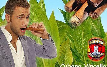 Doutníky, které by Vám i Fidel záviděl! Vychutnejte si zápasy Ligy Mistrů s pravými ručně balenými doutníky Vincello Cubano s 71% slevou.