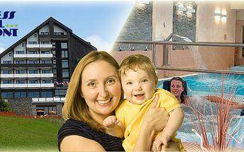 5 - denní pobyt pro dospělou os. a dítě do 12 let s polopenzí plný luxusu v krásném OREA Wellness Hotelu Horizont s výhledem na Šumavu! Hlídání, plavání, svačinky - vše v ceně!