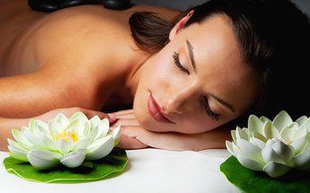 Uvolněte se a naplňte své tělo energií! Díky 60minutové masáži zad a šíje lávovými kameny! Ve Studiu Sabrina ji máte nyní s poukazem za polovic, tedy za 249 Kč!