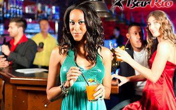 Užijte si konec pracovního týdne s přáteli! 3x rum s colou nebo 3x vodka s džusem za 70 kč na diskotéce v baru rio, ve dnech pátek nebo sobota od 21 do 04 hodin.