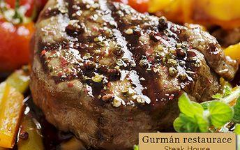 Vychutnejte si STEAKOVÉ HODY! 1 kg kuřecích nebo vepřových steaků z lávového grilu! K tomu příloha (3x 200 g vařených nebo amerických brambor či hranolek) a pikantní omáčka. TO VŠE se 69% slevou jen za 249 korun!