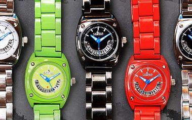 Exkluzivní cena - pouze 249 Kč (původně 990 Kč) za luxusní hodinky značky SIMPAR (možnost výběru z pěti barev)! Dopřejte si nádherný doplněk s naprosto neuvěřitelnou slevou 75%!