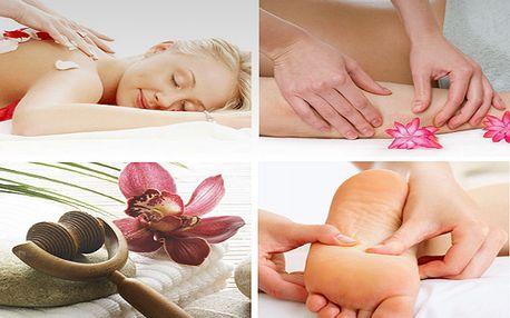 50% sleva na všechny masáže v masážním salonu