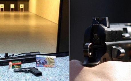 Staňte se na jeden den AKČNÍM HRDINOU! Vyzkoušejte si střílet z PĚTI RŮZNÝCH ZBRANÍ v moderní střelnici PARABELLUM. Asistovat Vám bude profesionální INSTRUKTOR. Získáte také KOMPLET SERVIS včetně OCHRANY sluchu a zraku.
