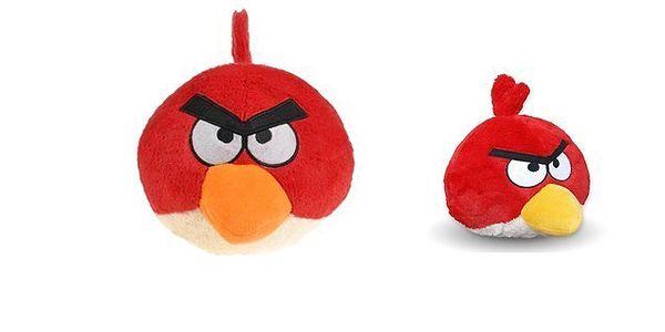 Roztomilá červená plyšová hračka ANGRY BIRDS ve velikosti 10 cm zaručeně pobaví nejen Vás ale i kamarády! Poštovné pouze 29 Kč!