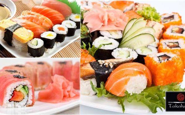 Podlehněte celosvětovému trendu! 880 Kč za cokoli z jídelního lístku v Sushi baru Takahashi pro 2 osoby v hodnotě 1 600 Kč! Čerstvé a kvalitní suroviny. Zamilujte se do Nigiri, Maki sushi a japonských specialit!