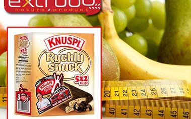 Mlsejte zdravě a navíc se slevou 42 %! Jen za 399 Kč získáte karton křupavého snacku Knuspi a navíc jako bonus 50% slevu na 3měsíční individuální tréninkový či výživový plán! Buďte fit s Knuspi! Poštovné v ceně!