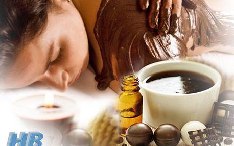 90 minut čokoládového potěšení, masáž zad a šíje váš život okoření. 54% sleva na uvolňující čokoládovou masáž a zábal zad a šíje.