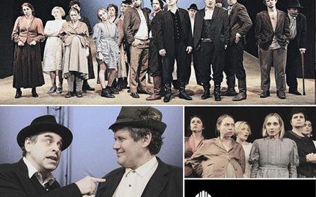 Divadelní klasika ryze česká, Naši furianti v Teplicích, a divák vděčně tleská. 50% sleva na divadelní představení Naši Furianti v Krušnohorském divadle.