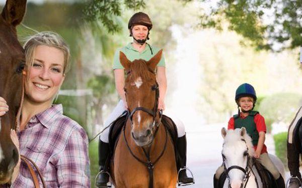 7 eur za jazdu na koni s doprovodom na Ranči Lieskovec. Fantastický výlet pre celú rodinu so zľavou 50%!