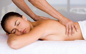 300 Kč za regenerační masáž v délce 60 minut v hodnotě 400 Kč