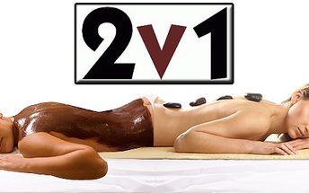 60 minutová čokoládová masáž s lávovými kameny v kosmetickém studiu na Praze 5! Dvě masáže v jedné!
