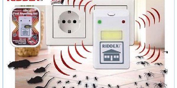 RIDDEXI PLUS - jednoduché a praktické řešení jak dát sbohem nechtěným škůdcům.